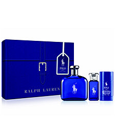 Ralph Lauren Men's 3-Pc. Polo Blue Gift Set, A $147 Value
