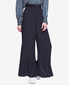 Free People Wild And Free Polka-Dot Wide-Leg Pants