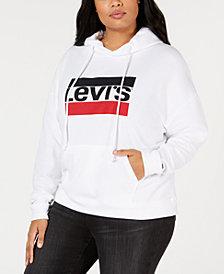 Levi's® Plus Size Logo Fleece Hoodie