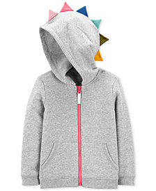 Carter's Toddler Girls Dinosaur Hoodie