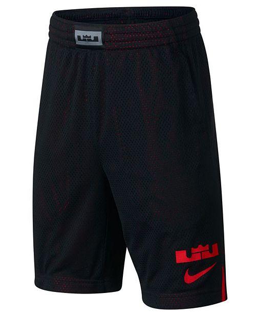 Nike Big Boys Dry LeBron Graphic Shorts - Shorts - Kids - Macy s 962f407c3a