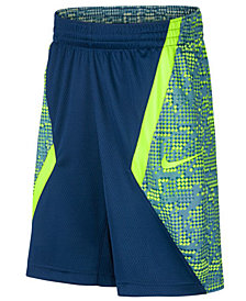 Nike Big Boys Printed Basketball Shorts