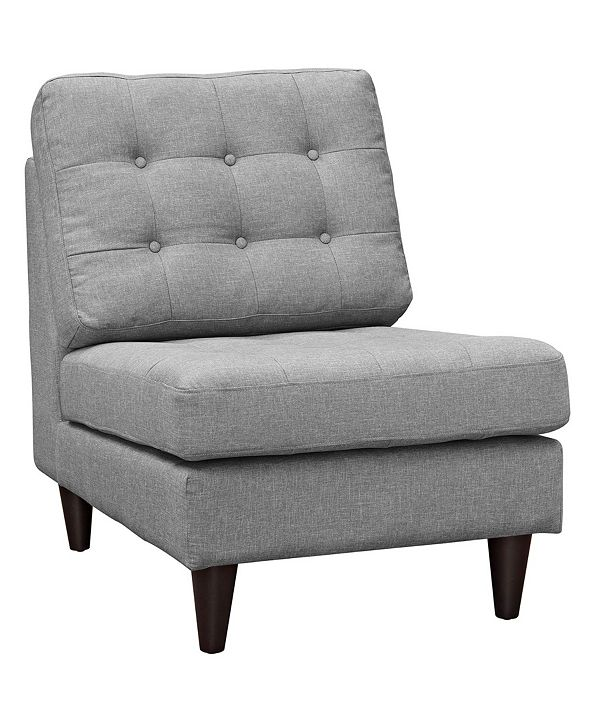 Modway Empress Upholstered Fabric Lounge Chair