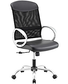 Modway Emblem Mesh and Vinyl Office Chair