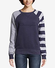 Champion Heritage Fleece Striped Sweatshirt