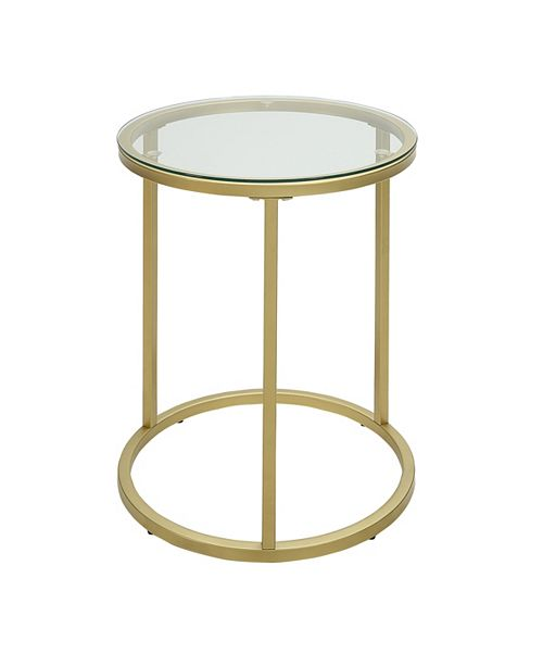 Furniture CLOSEOUT! Orson Accent Table, Quick Ship