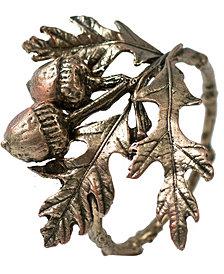 Michael Michaud Acorn & Oak Napkin Rings