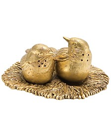 Michael Michaud Kirtland Warbler Salt & Pepper Server
