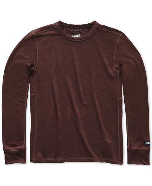 f597eb669 The North Face Men's Terry Crewneck Solid T-Shirt & Reviews - T ...