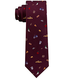 Tommy Hilfiger Men's Everything NYC Silk Tie