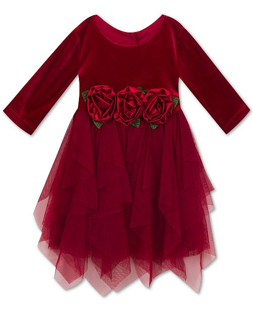 Rare Editions Christmas Toddler.Rare Editions Toddler Girls Velvet Party Dress Reviews