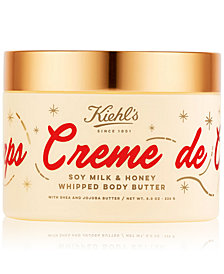 Kiehl's Since 1851 Limited Edition Creme de Corps Soy Milk & Honey Whipped Body Butter, 8-oz.