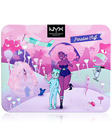 NYX Professional Makeup Paradise Fluff Shadow & Liner Palette
