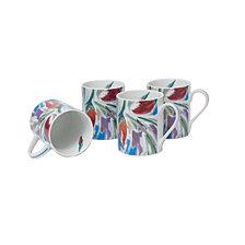 Darbie Angell Crazy Love  Set of 4 Mugs 12 OZ