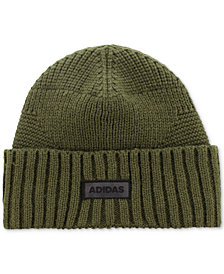 adidas Men's Pine Knot Mixed-Stitch Beanie