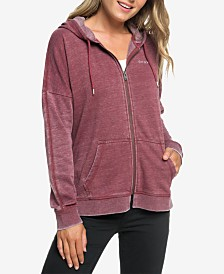 Roxy Juniors' Rustling Leaves Graphic Hoodie