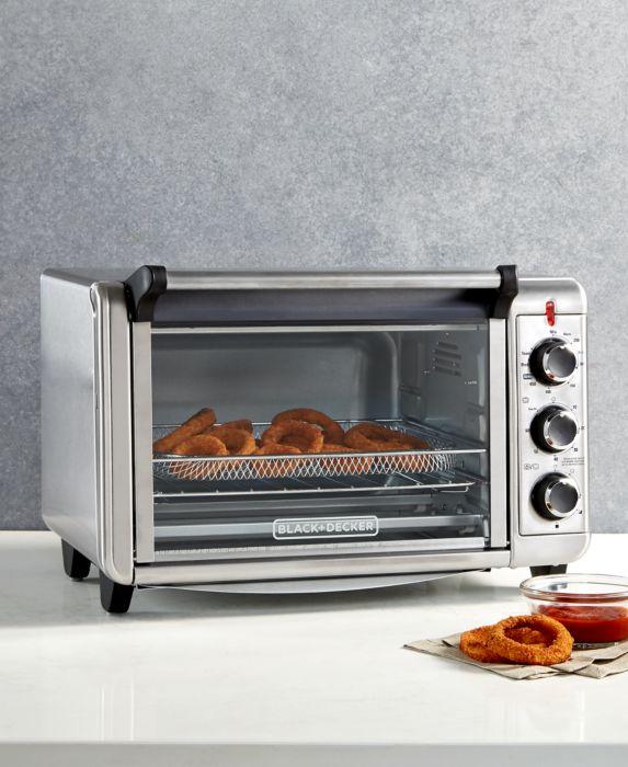 BLACK+DECKER Crisp N Bake Air Fry Toaster Oven TO3215SS