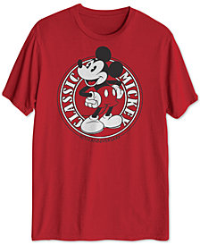 Classic Mickey Mouse Men's Graphic T-Shirt