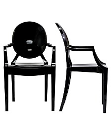 Modway Casper Dining Armchairs Set of 2