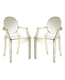 Modway Casper Dining Armchairs Set of 2