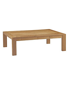 Modway Upland Outdoor Patio Wood Coffee Table