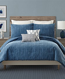 Rhapsody In Blue Bedding Collection