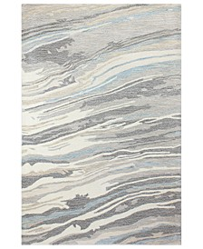 "CLOSEOUT! Granite GR1 5'6"" x 8'6"" Area Rug, Created for Macy's"