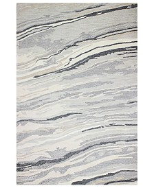 """Hotel Collection Granite GR1 5'6"""" x 8'6"""" Area Rug, Created for Macy's"""