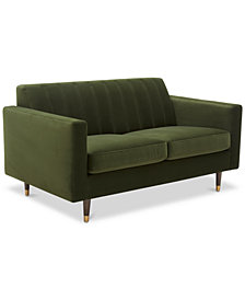 "Penryn 61"" Fabric Loveseat"