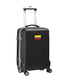 """21"""" Carry-On 100% ABS Hardcase Spinner Luggage - Colombia Flag"""