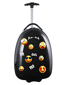 Kids Luggage Emoji 18-Inch