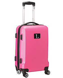 Luggage Carry-On 21-Inch Hardcase Spinner 100% ABS With Letter L