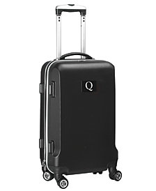 Luggage Carry-On 21-Inch Hardcase Spinner 100% Abs With Letter Q