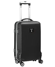 Luggage Carry-On 21-Inch Hardcase Spinner 100% Abs With Letter T