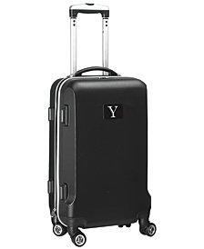 """21"""" Carry-On Hardcase Spinner Luggage - 100% ABS With Letter Y"""