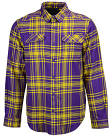Columbia Men's LSU Tigers Flare Gun Flannel Long Sleeve Shirt