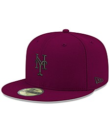 New York Mets Reverse C-Dub 59FIFTY FITTED Cap