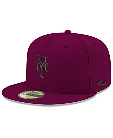 super popular 98678 19eb1 New Era New York Mets Reverse C-Dub 59FIFTY FITTED Cap