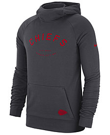 Nike Men's Kansas City Chiefs Dri-FIT Fashion Hoodie