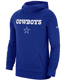 Nike Men's Dallas Cowboys Dri-FIT Fashion Hoodie