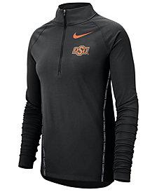 Nike Women's Oklahoma State Cowboys Element Half-Zip Pullover