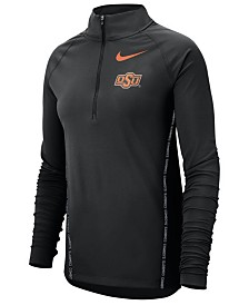 Nike Women's Oklahoma State Cowboys Element Half-Zip Pullover
