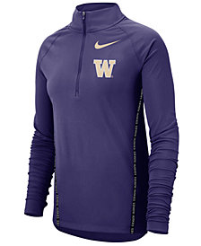 Nike Women's Washington Huskies Element Half-Zip Pullover