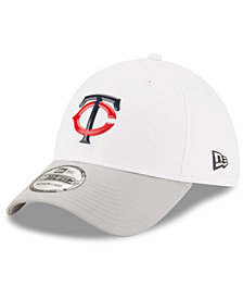 New Era Minnesota Twins White Batting Practice 39THIRTY Cap