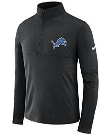 Nike Men's Detroit Lions Core Modern Quarter-Zip Pullover