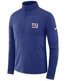 Nike Men's New York Giants Core Modern Quarter-Zip Pullover