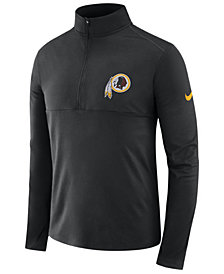 Nike Men's Washington Redskins Core Modern Quarter-Zip Pullover