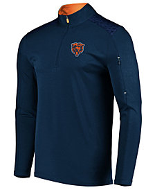 VF Licensed Sports Group Men's Chicago Bears Ultra Streak Half-Zip Pullover