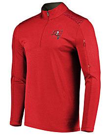 VF Licensed Sports Group Men's Tampa Bay Buccaneers Ultra Streak Half-Zip Pullover