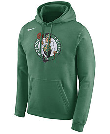 Nike Men's Boston Celtics Essential Logo Pullover Hoodie